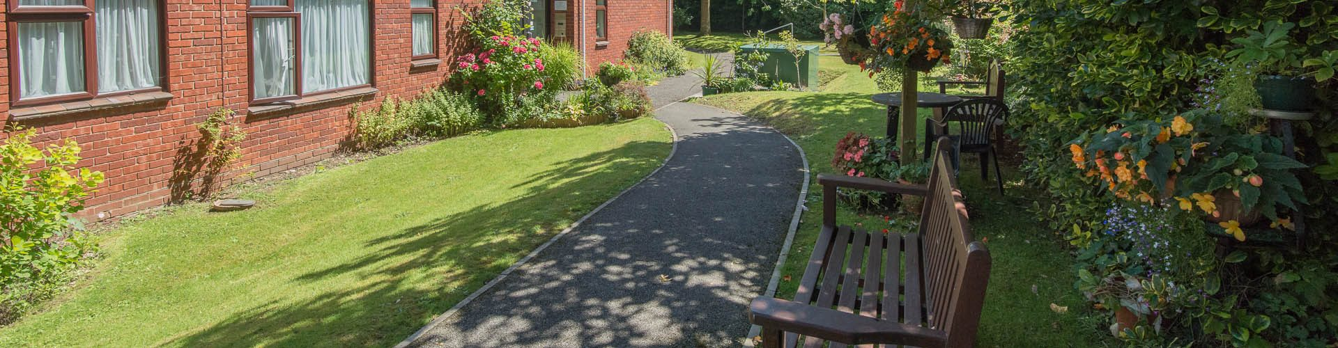 Muir House gardens